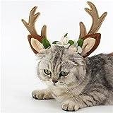 GXY - Bandeau pour chats et chiens Épingle à cheveux Chapeau de chien pour Noël et Halloween Accessoire pour animaux de compagnie (l)