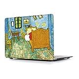L2W Coque pour Apple MacBook Air 13,3 Pouces (Old) Modèle A1466/A1369 Ordinateur Portable Accessoires étuis Imprimer Plastique Peinture à l'huile Protections Rigide Housse, La Chambre