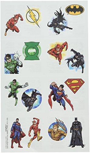 DC Superheros 16 Stk Tattoos - Justice League Hauttattoos