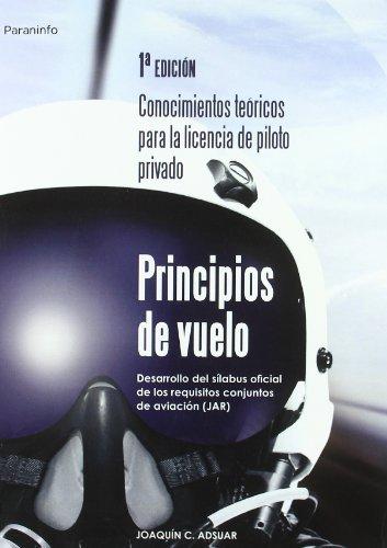 Principios de vuelo par Joaquín Carlos Adsuar Mazón