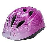 Babimax Casco per bicicletta da bambini , per scooter sicurezza protezione della testa Dimensione di 20x17x11cm, 41-52CM circonferenza cranica adatto a bambini di età compresa tra 2-6 (Rosa, Small)
