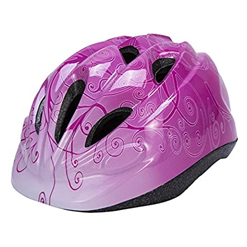 Babimax Multi-sport Adjustable Safety Cycling Bike Helmet for Kids Child (Pink)