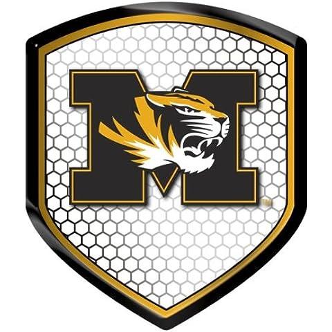 NCAA Missouri Tigers Team Shield Automobile