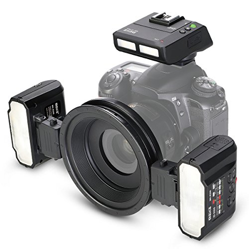 Meike MK MT24 macro Twin Lite flash per fotocamere digitali Nikon