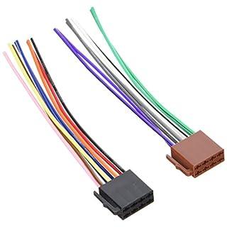 Adapter-Universe 1130 DIN ISO Auto Radio Adapter Kabel Stecker Strom Lautsprecher, 16 Pin