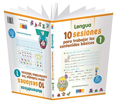 10 Sesiones para Trabajar los Contenidos Básicos - Cuaderno 1 por José Martínez Romero