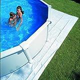 Gre MPR450 - Schutzdecke für Rundbecken von 440 cm, 450 cm oder 460 cm Durchmesser, Farbe schwarz