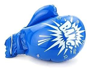 Gant de boxe géant gonflable 31cm x 41cm - Bleu