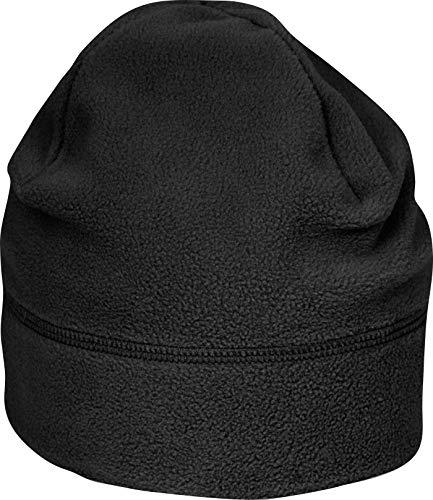 SuprafleeceTM Summit Hat, Wintermütze, Mütze, Fleecemütze,Größe Doppelgrößen viele Farben L/XL,Black