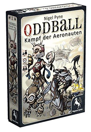 Pegasus Spiele 18142G - oddball Aeronauts, Kartenspiele