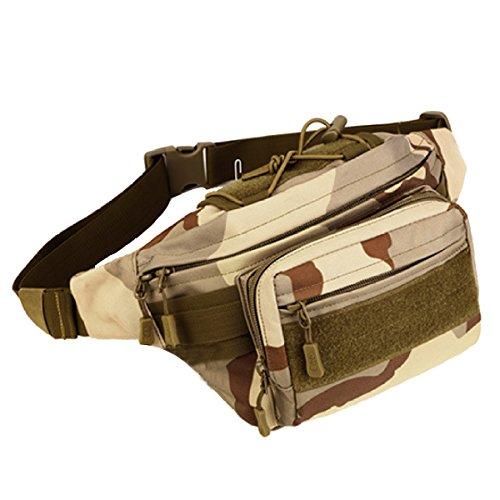 Multifunktionale Outdoor Fitness Sport Taille Taschen Mehrfarbig Camouflage2