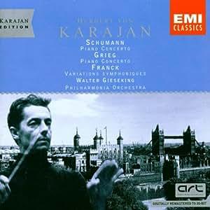 Karajan-Edition - The London Years (Schumann / Franck / Grieg: Klavierkonzerte)