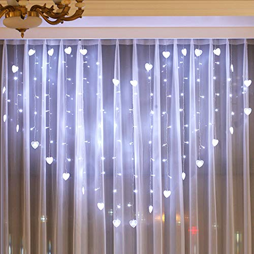 Halloween LED Vorhanglicht Dekoration  Mode 124 Lichter -