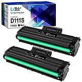 LxTek kompatibel toner D111S ersättning för Samsung MLT-D111S för Samsung Xpress M2026W M2026 M2070W M2070 SL-M2026 SL-M2070 SL-M2026W SL-M2070W SL-M2070FW M2020 M2020 M20 2 M2020W M2022W (2 svart)