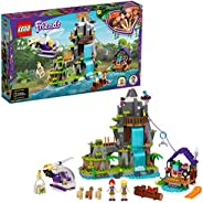 LEGO Friends Alpaca Mountain Jungle Rescue 41432 building set with 2 mini-dolls and accessories, Toy for Kids