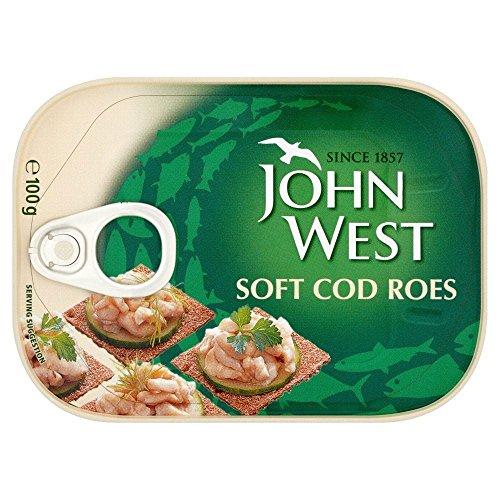 John West Cod souple Roes (100g) - Paquet de 2