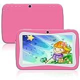 Padgene - Tablet táctil para Ordenador Infantil (7 Pulgadas, 1024 x 600 Wi-Fi, Bluetooth, 3D,...