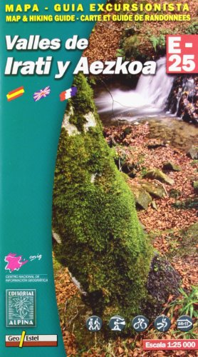 Irati - Aezkoa valles de por Alpina Editorial SL