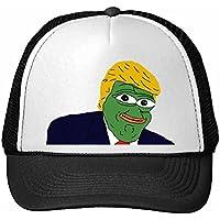 DIYthinker América Presidente Estadounidense Triste Rana Trompeta Divertida Nylon Ridícula Parodia Meme Camionero Sombrero Gorra De Béisbol Fresca Tapa Ajustable Niños