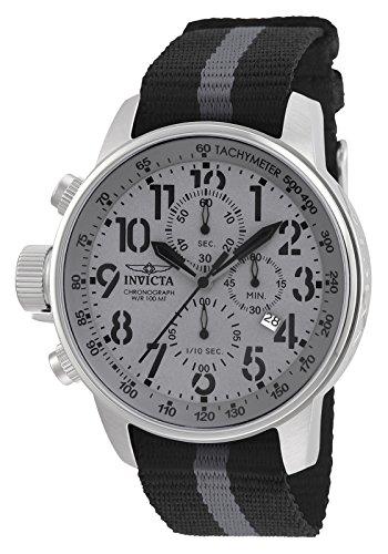 Invicta 22846 I-Force Reloj para Hombre acero inoxidable Cuarzo Esfera gris