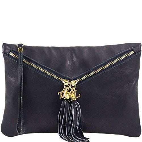 Tuscany Leather - Audrey - Sac à main pour femme - Blue foncé