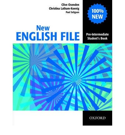 [(New English File Pre-Intermediate: Student's Book: Six-Level General English Course for Adults)] [ By (author) Clive Oxenden, By (author) Christina Latham-Koenig, By (author) Paul Seligson ] [May, 2005]