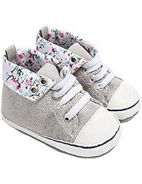 Botas de bebé, Amlaiworld Zapatos de bebé niño niña recién nacido cuna zapatillas 0-18 Mes