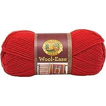 Lion Brand Yarn Company 1-Piece Wool-Ease Yarn, Ranch Red
