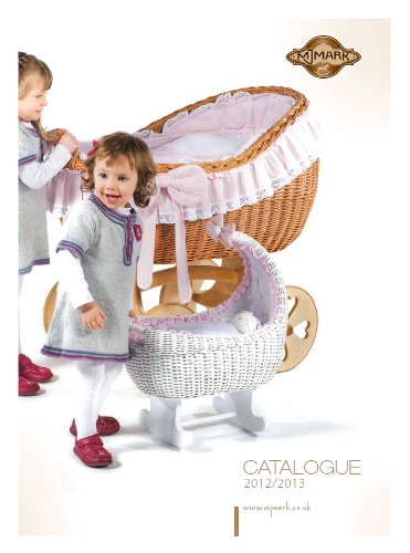 Ophelia Wicker Crib Cot (Moses Basket) Antique PINK from MJmark  Solid, Large wicker crib Handmade nature wicker basket Solid wooden base with wheels 4