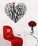 Decals Design Wall Stickers Love Quote I...