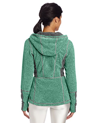Hot Chillys Damen Pico Fleece Full Zip Hoodie grün