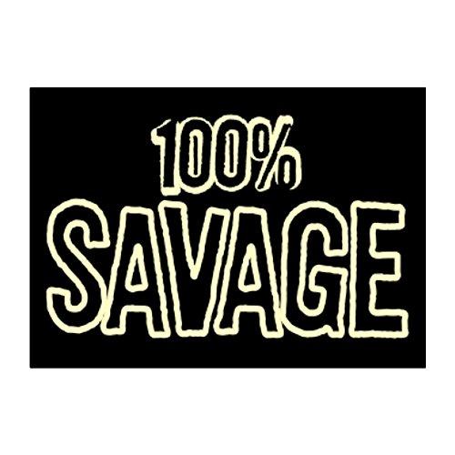 Teeburon 100 Savage Aufkleber Packung x4 -