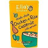 Cuisine Chick-Poulet Poussin + Riz La Casserole De Ella Aux Abricots De 10 Mois 190G - Lot De 2