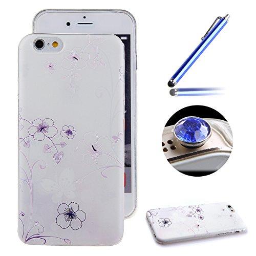 Etche Boîtier en caoutchouc pour iPhone 4/4S,Cas de TPU pour iPhone 4/4S,Coque pour iPhone 4/4S,Colorful série Imprimé Housse de la peau de pare-chocs TPU Soft en caoutchouc de silicone pour iPhone 4/ TPU #15