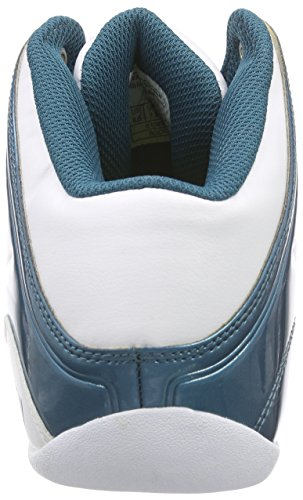 And1 ROCKET 4 Herren Basketballschuhe Mehrfarbig (Blue coral/Blazing yellow-Whit)