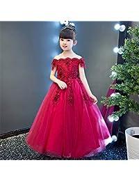 Jxth Abiti da Principessa da Ballo per Bambina Le Ragazze dei Bambini Si  Vestono per Il Regalo di Natale di Natale di… 3830f94d2d9