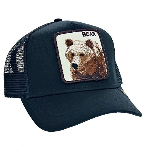 Goorin Bros Trucker Cap Big Bear Black - One-Size