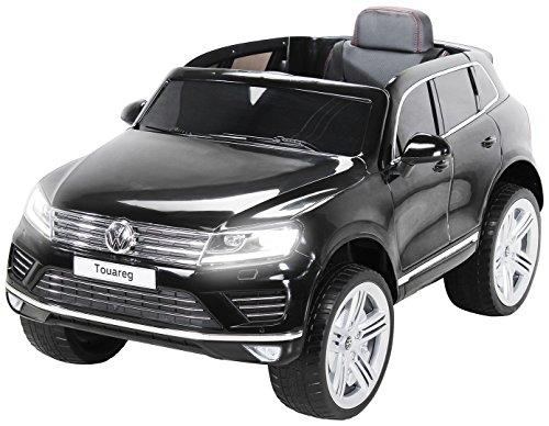 RC Kinderauto kaufen Kinderauto Bild 1: Actionbikes Motors Kinder Elektroauto VW Touareg Kinderfahrzeug Kinder Auto Ledersitz Eva Reifen (Schwarz)*