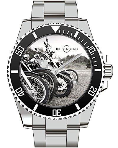 Motorad Biker Motorcycle Geschenk Fan Artikel Zubehör Fanartikel Uhr 2553