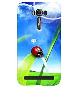 A2ZXSERIES Back Case Cover for Asus Zenfone 2 Laser ZE550KL :: Asus Zenfone 2 Laser ZE550KL (5.5 Inches)