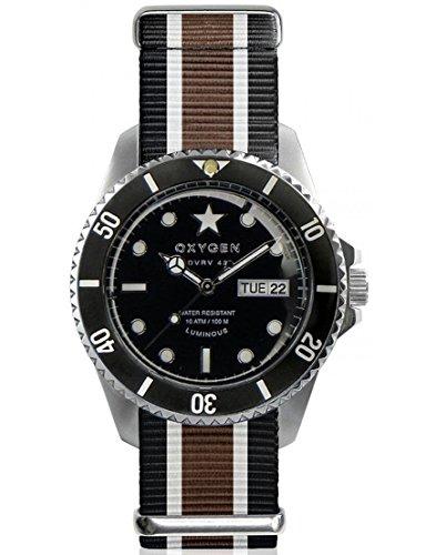 Oxygen Reloj de cuarzo Man Diver Vintage Cigar 42 mm