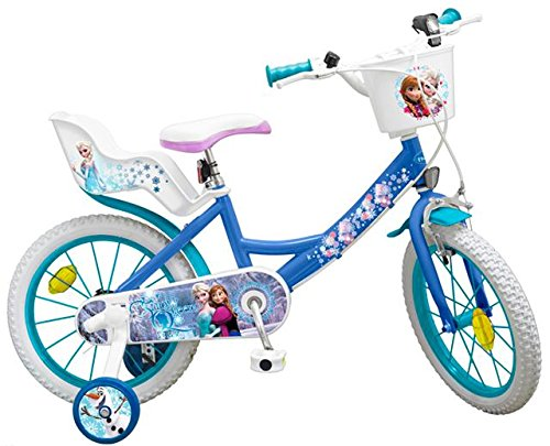 TOIMS Frozen – Bicicletta per Bambino, 14″ - 2