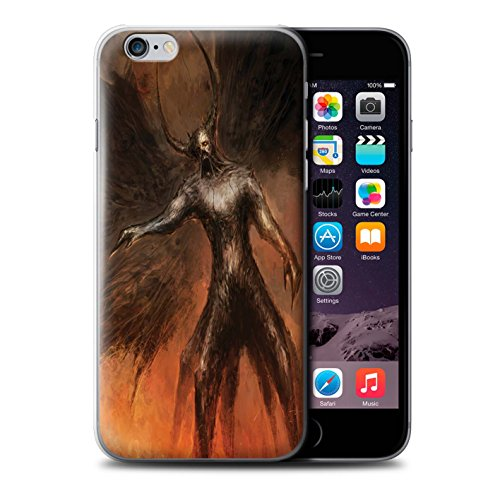 Offiziell Chris Cold Hülle / Case für Apple iPhone 6 / Pack 10pcs Muster / Dunkle Kunst Dämon Kollektion Schwarzen Flügeln
