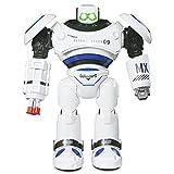 ANTAPRCIS Robot Telecomandato Giocattolo Intelligenti di Robot con LED Luci Lampeggiante e Suoni Camminare Scivolare Ballare per Bambini