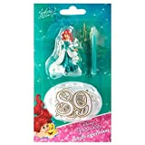 devineau Kerze Zahlen Geburtstag Figur Kunststoff Ariel