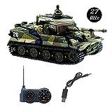 YouCute Mini RC Panzer mit USB Ladekabel Fernbedienung Panzer Panzer