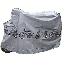 Tekbox Universal Waterproof Bike Cover Weather Resistant Indoor Outdoor Storage Use