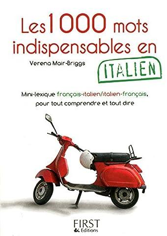 Le Petit Livre de - 1000 mots indispensables en italien