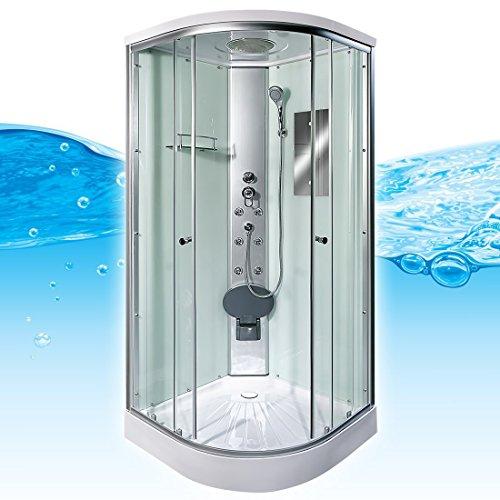 AcquaVapore DTP10-1000 Dusche Duschtempel Duschkabine Fertigdusche 90x90, EasyClean Versiegelung der Scheiben:Nein! +0.-EUR