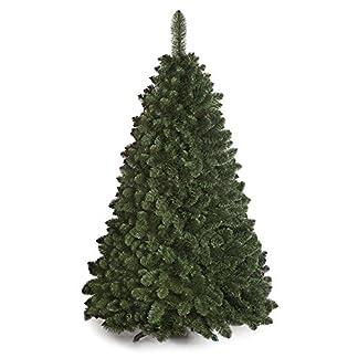 DWA ARBOL Navidad Grande en Caja, Bosque Tradicional Verde Soporte (150 cm, Caucasian Fir)